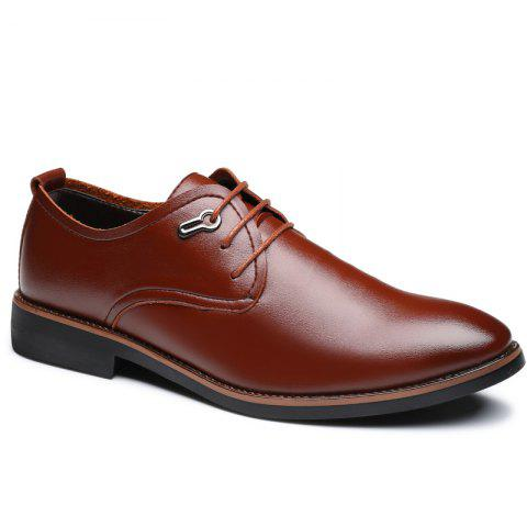 Trendy Casual Simple Style Male Business Shoes
