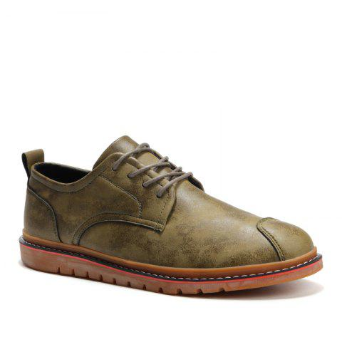 Trendy Casual Simple Style Breathable Formal Shoes For Men