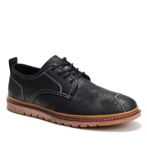 Discount Casual Simple Style Breathable Formal Shoes For Men