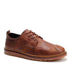 Casual Simple Style Breathable Formal Shoes For Men -
