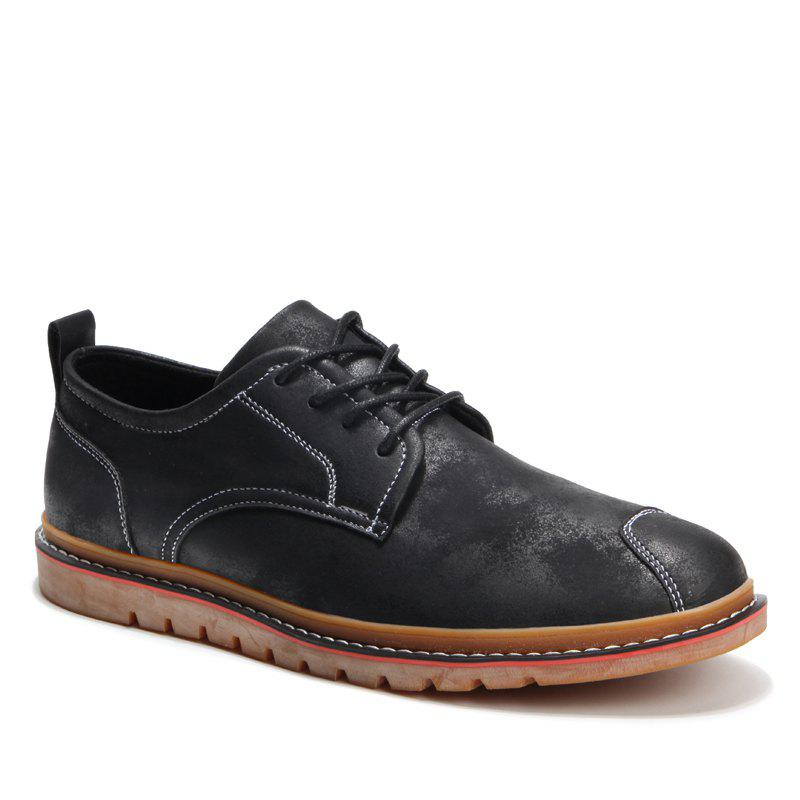 Shop Casual Simple Style Breathable Formal Shoes For Men