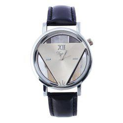 The Fashion Triangle Belt Student Gift Watches -