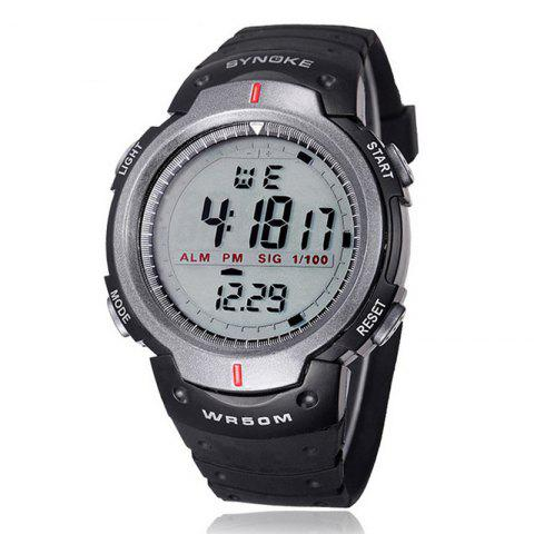 Best SYNOKE 61577 Sports Men Waterproof Outdoor Watch
