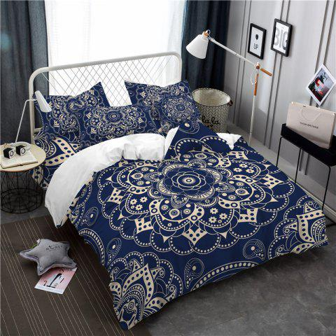 Cheap Royal Luxury Classic Elegance Active Dyeing Exquisite Jacquard Bedding Bedding Three Piece Retro SK07 Code