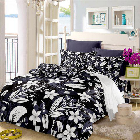 Store Deluxe Classic Elegant Royal Bedding Activity Printing and Dyeing Fine Jacquard Bedding Three Pieces Dream Flower Sk08