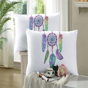 Embroidered Feather Bell Pattern Painting Series Three Pieces of Bedding Set AS12 -
