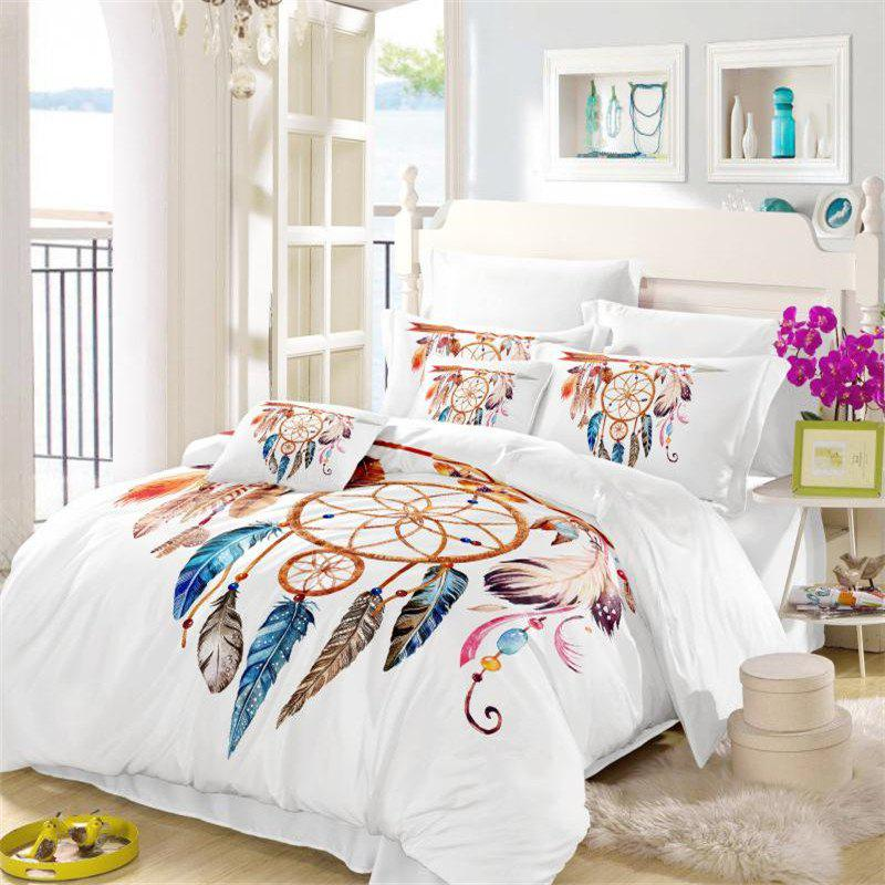 Fancy Feather Painting Series Embroidery Tribal Designs Three Or Four Sets of Bedding Necklace Hung Arrow AS14