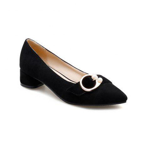 Hot Pointed Thick and Shallow Single Shoes