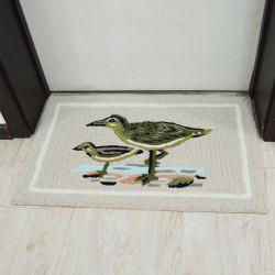 Door Mat Cute Cartoon Sea Gull Pattern Antiskidding Comfy Rug -