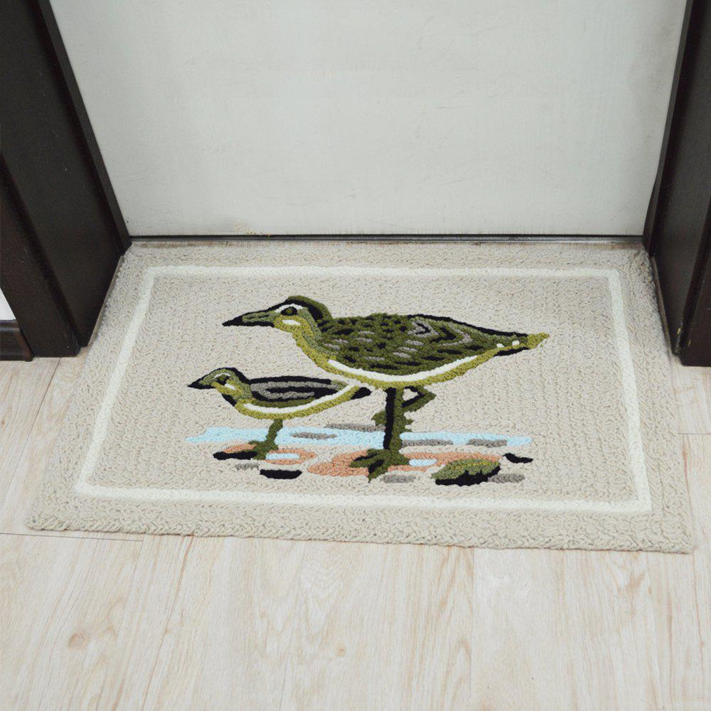 Buy Door Mat Cute Cartoon Sea Gull Pattern Antiskidding Comfy Rug