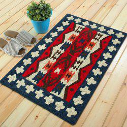 Tapis de sol Vintage Motif Floral Vivid Unique Home Decor Mat -