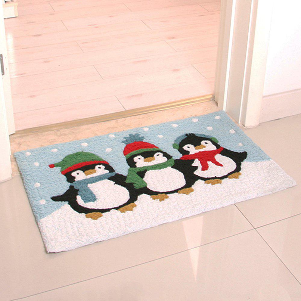 Tapis de sol Cartoon Lovely Penguin Pattern