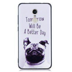 Pet Dog Phone Case for Xiaomi Redmi Note 4 / Note 4X Case Fashion Cartoon Soft Silicone TPU Protection Cover Cases -