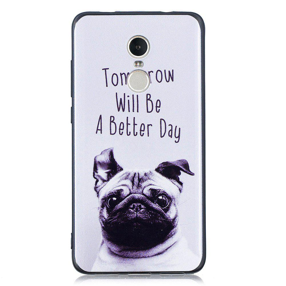 Best Pet Dog Phone Case for Xiaomi Redmi Note 4 / Note 4X Case Fashion Cartoon Soft Silicone TPU Protection Cover Cases