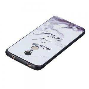 White Marble Phone Case for Xiaomi Redmi Note 4 / Note 4X Case Fashion Cartoon Soft Silicone TPU Protection Cover Cases -
