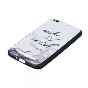 White Marble Phone Case for Xiaomi Redmi 4A Case Fashion Cartoon Soft Silicone TPU Cover Cases Protection Phone Bag -