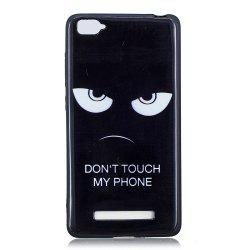 The Eyes Phone Case for Xiaomi Mi 4C / Mi 4I Case Fashion Cartoon Soft Silicone TPU Cover Cases Protection Phone Bag -