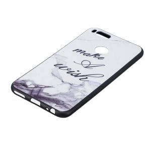 White Marble Phone Case for Xiaomi Mi 5X / Mi A1 Case Fashion Cartoon Soft Silicone TPU Cover Cases Protection Phone Bag -