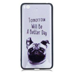 Pet Dog Phone Case for Xiaomi Mi 5S Case Fashion Cartoon Relief Soft Silicone TPU Cover Cases Protection Phone Bag -