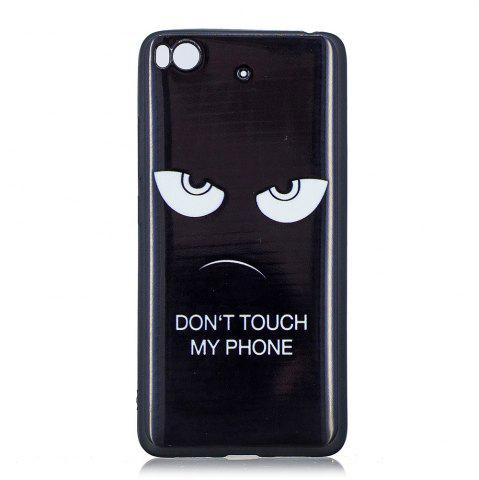 Shops The Eyes Phone Case for Xiaomi Mi 5S Case Fashion Cartoon Relief Soft Silicone TPU Cover Cases Protection Phone Bag