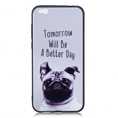 Best Pet Dog Phone Case for Xiaomi Mi 5C Case Fashion Cartoon Relief Soft Silicone TPU Cover Cases Protection Phone Bag