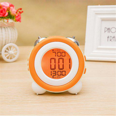 Buy Simple LED Cute Mini Portable Alarm Clock Child  Wake Up Morning or Night-light