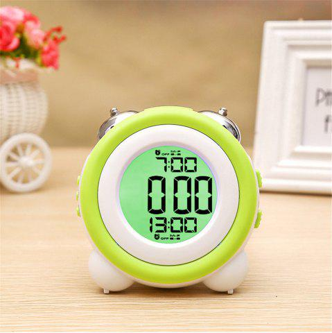 Outfits Simple LED Cute Mini Portable Alarm Clock Child  Wake Up Morning or Night-light