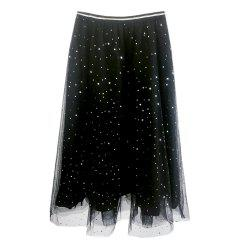 Shining Sequins   Net Yarn   Bitter Fleabane Skirts -
