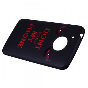 For MOTO G5 Red Eye Pattern TPU Phone Protection Shell -