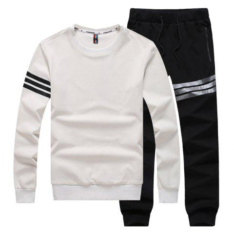 Outfits Men's Long Sleeve Leisure Sports Suit