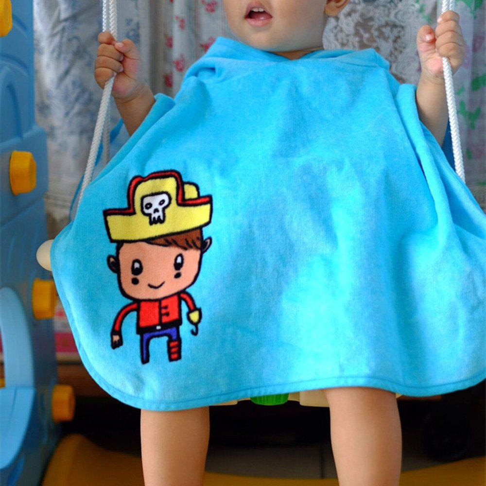 New Pure Cotton Baby Hooded Towel Cape