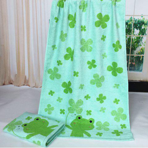 Latest Pure Cotton Cartoon Embroidered Children Bath Towel