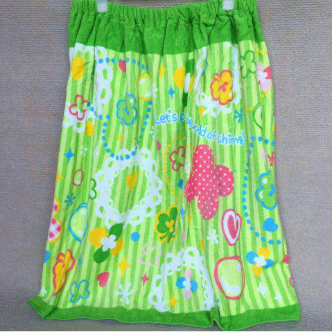 Outfit Pure Cotton Cartoon Printed Swimming Bath Skirt