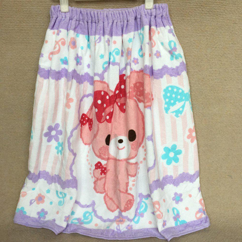 Best Pure Cotton Cartoon Printed Swimming Bath Skirt
