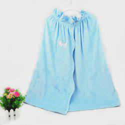 Bamboo Fiber Embroidery Bath Skirt -