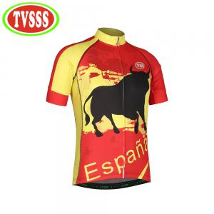 TVSSS Mens Cycling Jerseys Bib Set Spanish Bullfighter Cycling Suit Summer Short-Sleeved MTB Bicycles Sets New Design -
