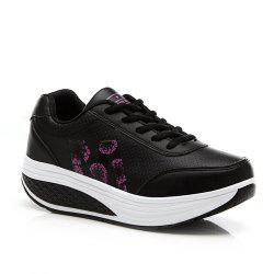 Swaying Thick Bottom Fitness Leisure Sports Shoes -