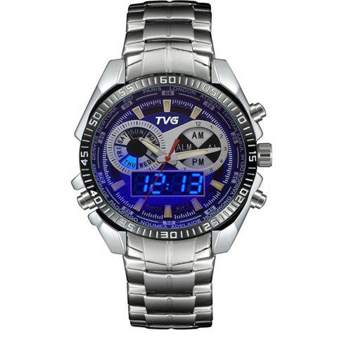 Chic TVG 568 3746 Leisure Fashion Night Light Shows The Cool Outdoor Sports Electronic Quartz Watch