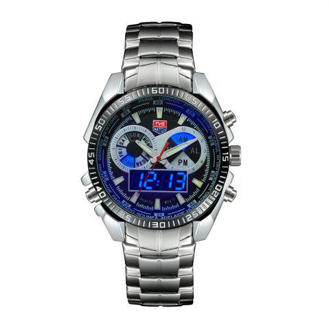 Affordable TVG 568 3746 Leisure Fashion Night Light Shows The Cool Outdoor Sports Electronic Quartz Watch