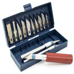 Carving Knife 13 Sets of Models DIY Paper Cutting Tools Mobile Film New Art Engraving Blade -