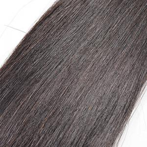 3pcs Brazilian Straight Unprocessed Real Human Hair Extensions Natural Black Color 16 18 20 inch -