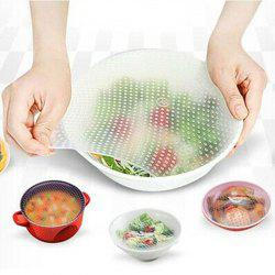 Food Grade Silicone Wrap Reusable Sealing Cover 1 Universal Bowl Covers -