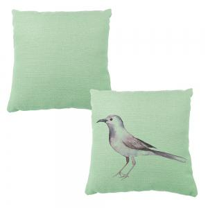 Ink Painting Hand Painted Bird Pillow Covers Car Sofa Cushion -