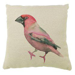 Color Hand Painted Sofa Pillow Parrot Car Seat Cover -