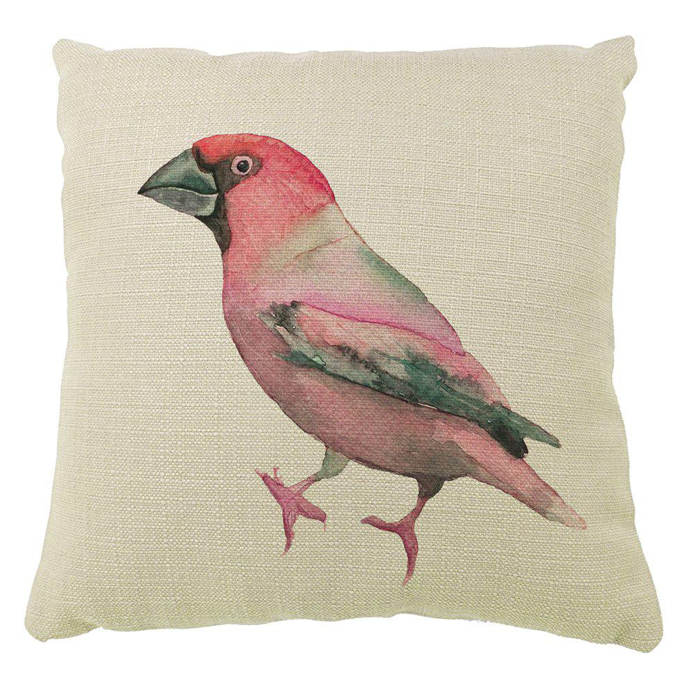 Hot Color Hand Painted Sofa Pillow Parrot Car Seat Cover