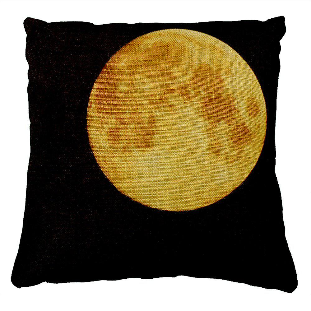 New Moon Night Abstract Pattern Car Sofa Cushion Cover Bedroom Pillowcase