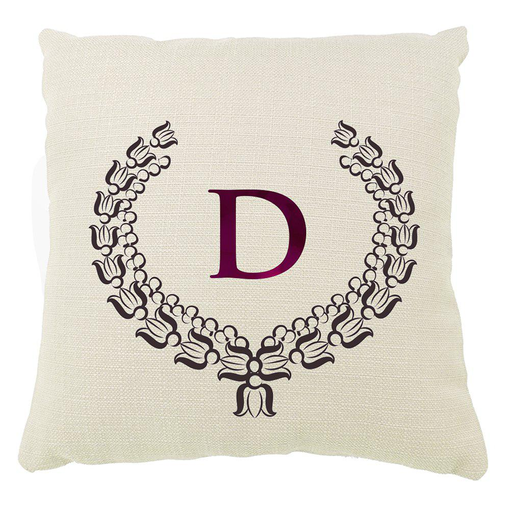 Shops European Border Pattern Balcony Sofa Cushion Cover Letter Set