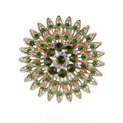 Женские девочки Crystal Flower Brooch Fine Jewelry Gifts -