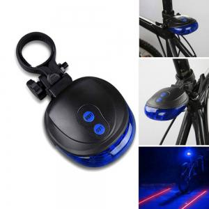 UltraFire XC-30 LED Blue Bicycle Tail Lamps -