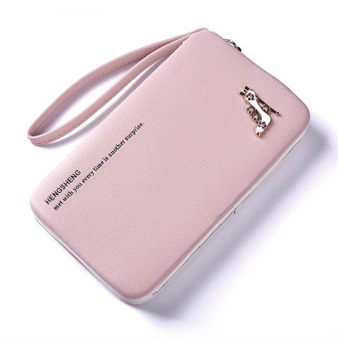 Store Female Wallet Long Pencil Case Clutch Bag Student Lunch Box Creative Models Mobile Phone Package